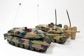 Infrared IR RC Tanks