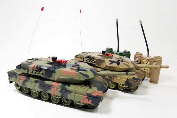 Infrared IR RC Tanks
