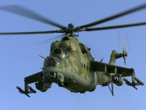 MI-24 Military Helicopter